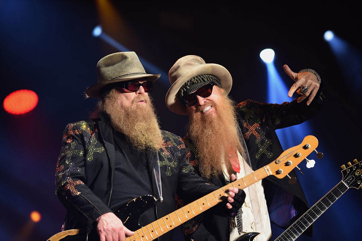 ZZ Top // The Red Devils (Support) - © Foto: Juri Junkov - www.junkov.com